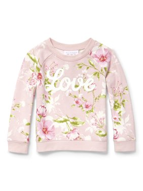 32b312b6d Product Image The Children's Place Printed Popover Sweatshirt (Baby Girls &  Toddler ...