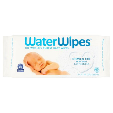 Waterwipes Baby Wipes   60 Sheets