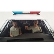 American Diorama 23827 Seated Sheriff Officers 2 Piece Figure Set for 1-24 Models