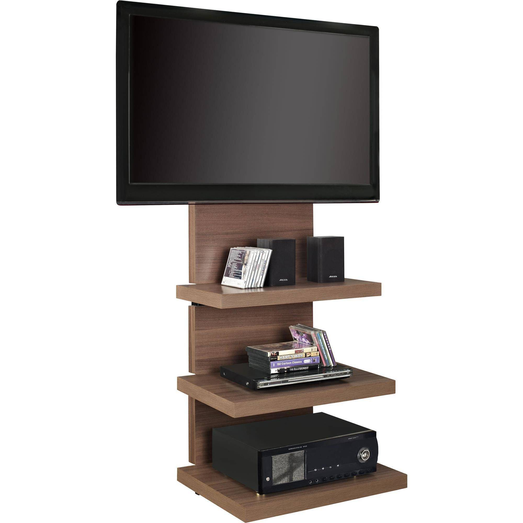 ameriwood home elevation altramount tv stand for tvs up to   - ameriwood home elevation altramount tv stand for tvs up to  wide black walmartcom