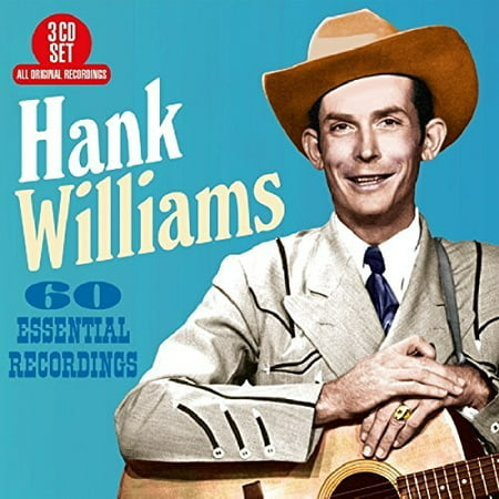 60 Essential Recordings (CD) (Hank Williams The Complete Mother's Best Recordings)