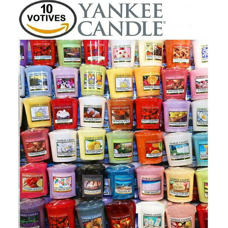 Yankee Candle Votives - Grab Bag of 10 Assorted Yankee Candle Votive Candles (10 Ct Floral FragrancesMixed) By Grab Bag Yankee Candle ()
