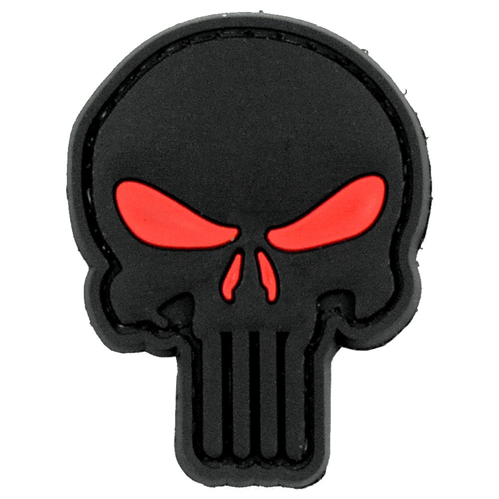 Military Police Noir PVC Airsoft Paintball Patch
