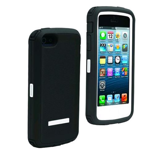 Body Glove ToughSuit Case for Apple iPhone 5 (White Grey) by Body Glove