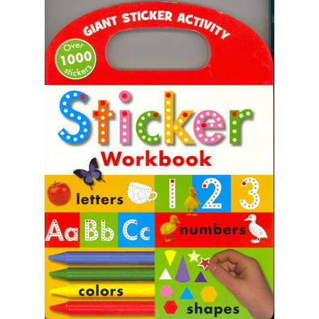 Sticker Workbook (Giant Sticker Activity)