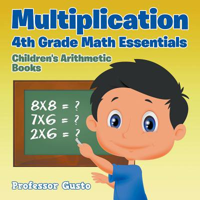 Multiplication 4th Grade Math Essentials Children's Arithmetic - Halloween Multiplication Fourth Grade