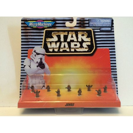 Star Wars Micro Machines - 9 Jawas, by Galoob. 1996 (Galoob Micro Machines)