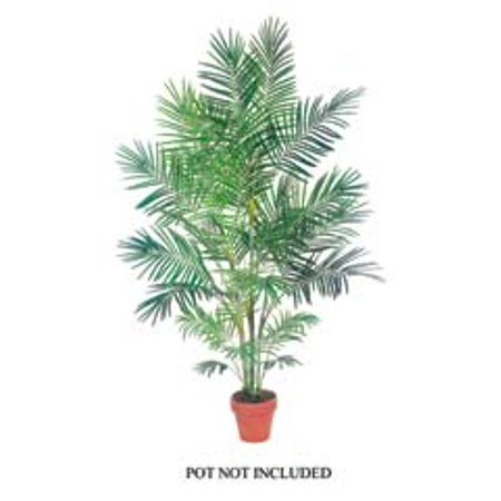 7' Tropical Decorative Artificial Areca Palm