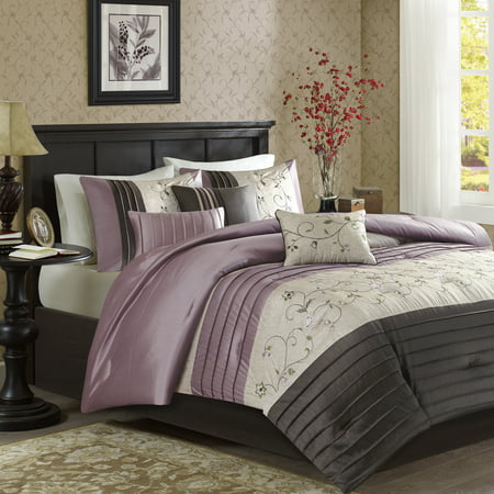 Purple Monroe Comforter Set (King) 7pc
