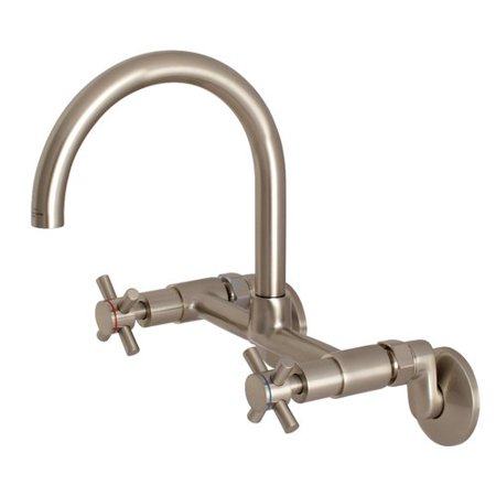 Kingston Brass Concord Adjustable Double Handle Kitchen Faucet
