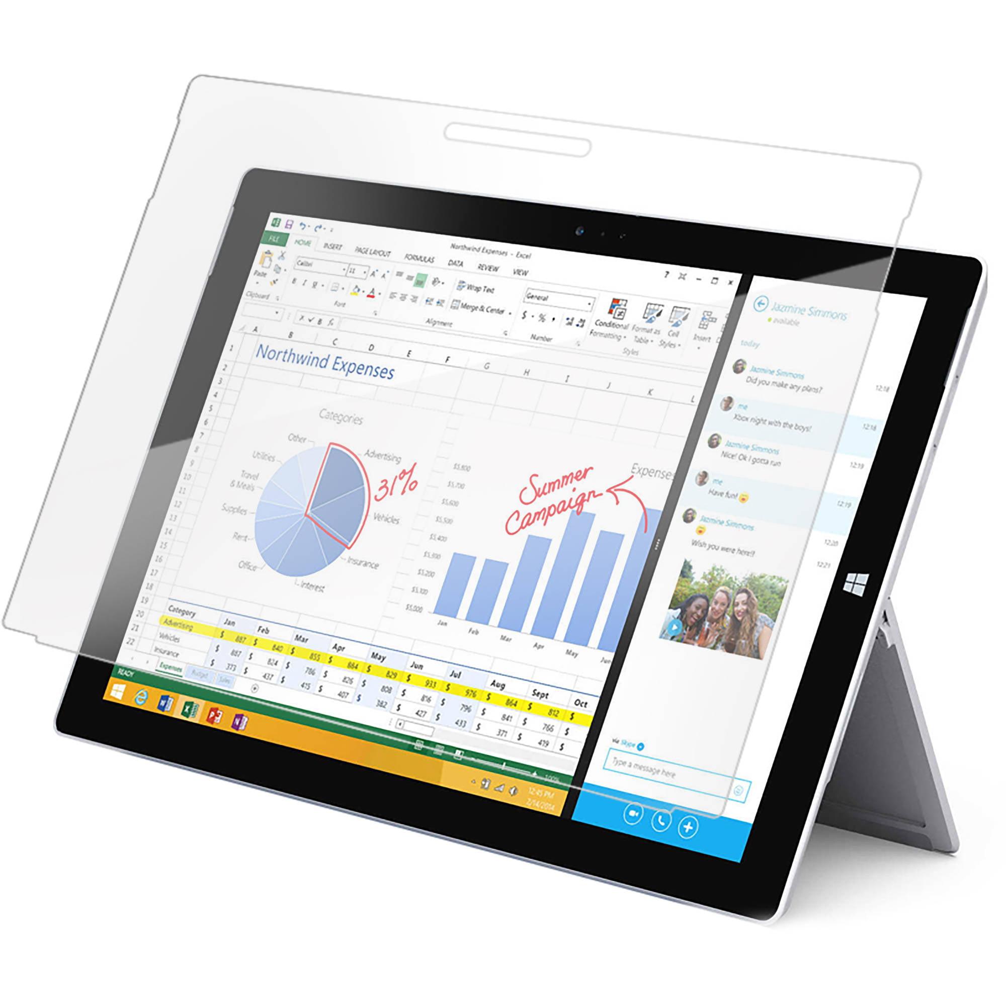BodyGuardz ScreenGuardz HD Impact Anti-Glare Microsoft Surface Pro 3