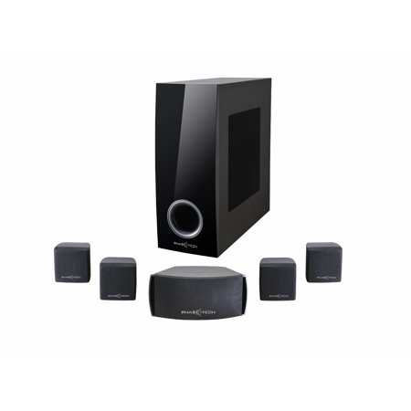 Six Channel Stereo (Home Theater System,Phaseotech 5.1 Channel Passive Surround Sound Home Cinema Stereo Digital HD Audio Entertainment Speaker Systems with Subwoofer )