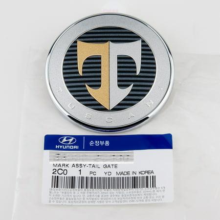 KDM Hyundai Tuscani Tiburon Tail Gate Trunk Emblem GENUINE OEM - Oem Center Tail