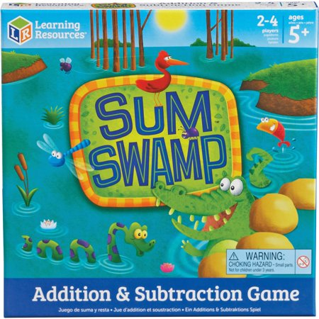 Learning Resources, LRNLER5052, Sum Swap Addition/Subtraction Game, 1 Each, Multi