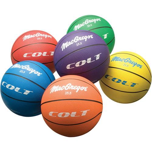 """MacGregor Colt 25.5"""" Basketball, Set of 6"""