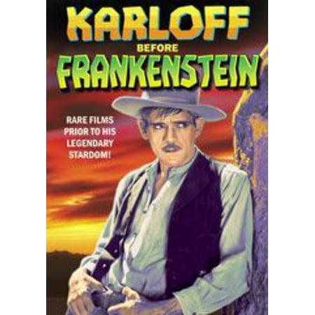 Karloff Before Frankenstein (DVD)](Boris Karloff Halloween)