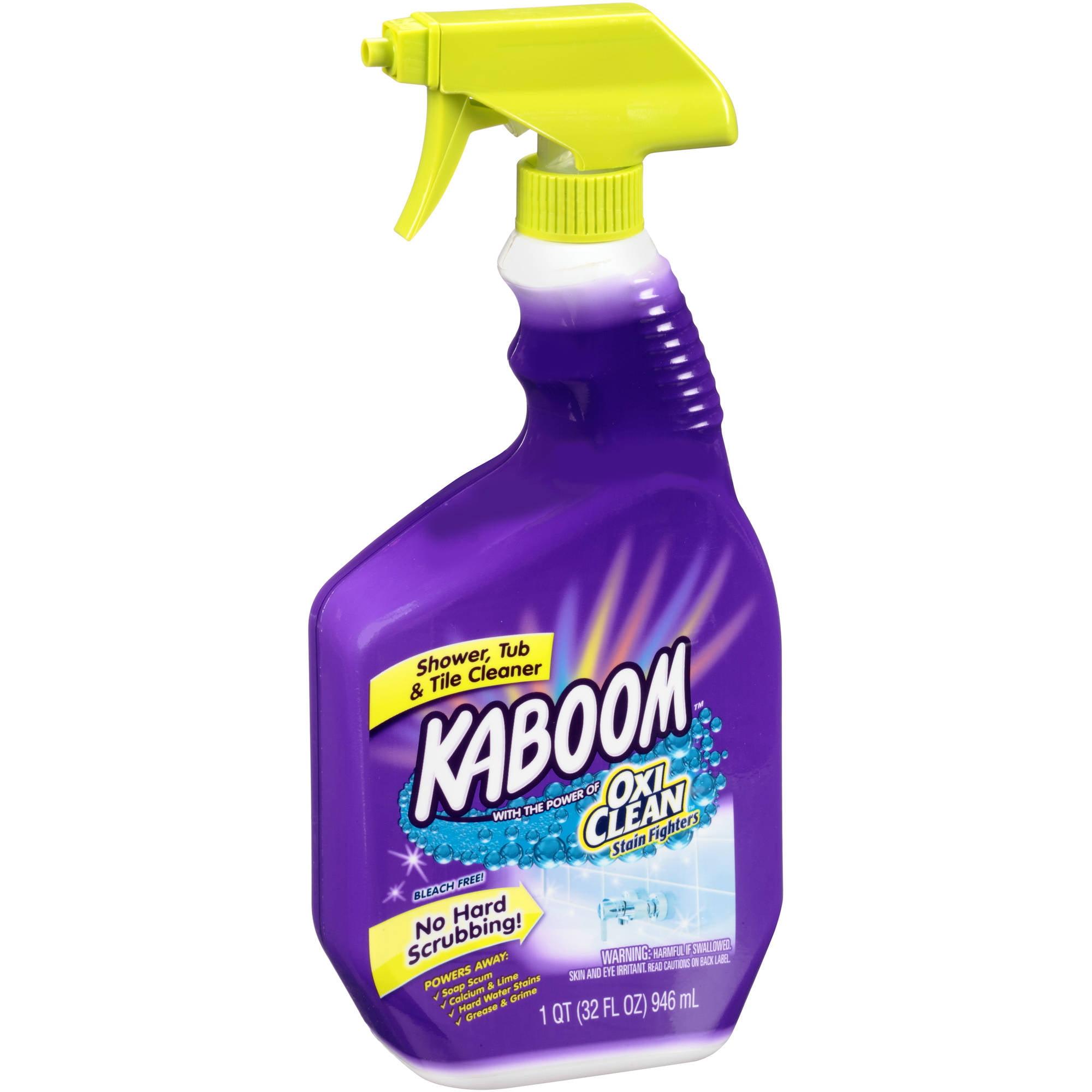 kaboom shower tub tile bathroom cleaner - Cleaning Bathroom Tile