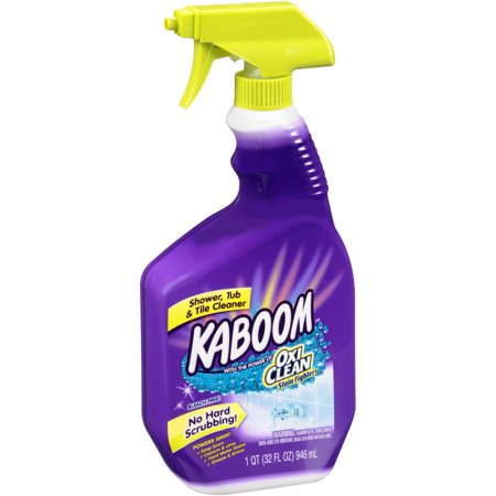 Kaboom shower tub tile bathroom cleaner 32 fl oz for Best product for cleaning bathroom tiles