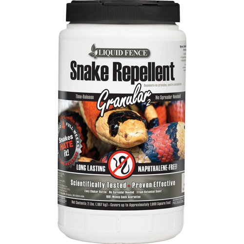 Liquid Fence Snake Repellent Granular, 2 lb
