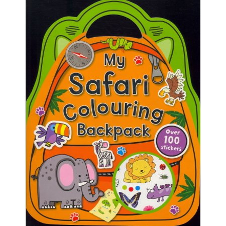 My Safari Colouring Backpack - Safari Ideas