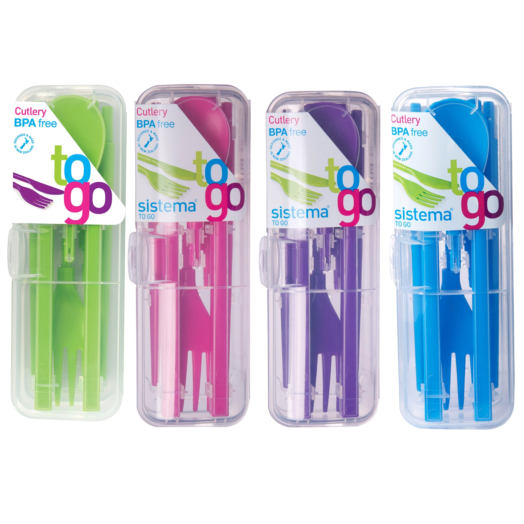 Sistema Cutlery To Go Travel Cutlery Set Pack