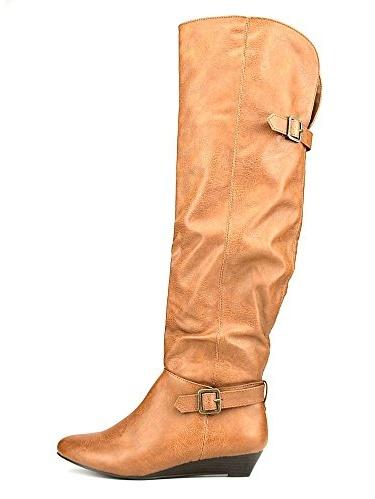 Hooray Women's Knee High Wedge Boots