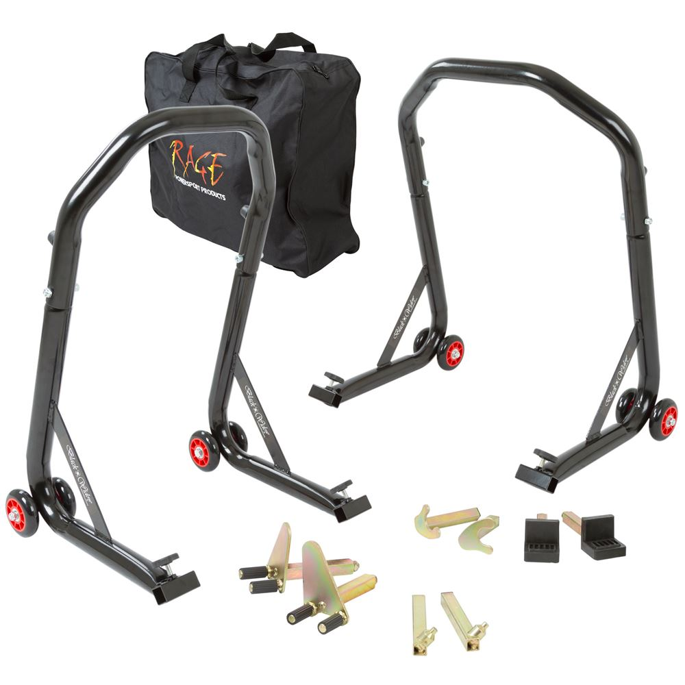 Black Widow All-in-One Motorcycle Stand Kit