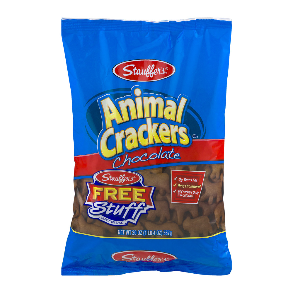 Stauffer's Animal Crackers Chocolate, 20.0 OZ