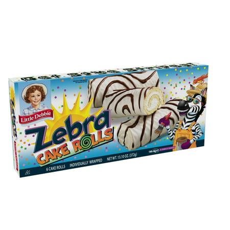 Little Debbie Zebra Cake Rolls   Oz
