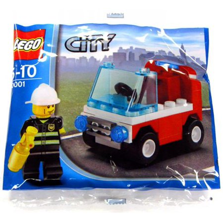 City Fireman's Car Mini Set LEGO 30001 [Bagged] for $<!---->