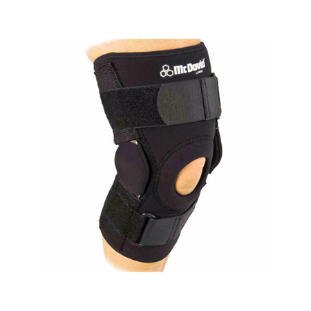 McDavid Classic Logo 422 CL Level 3 Knee Brace W/ Dual Disk Hinges - Black - Medium
