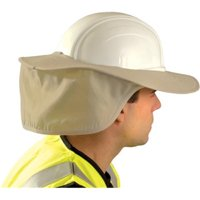 Occunomix 561-899-KHK Stow Away Hard Hat Shade- Khaki
