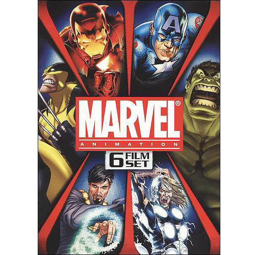Marvel Animation: 6 Film Set (Full Frame, Widescreen)