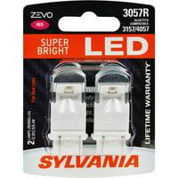 SYLVANIA 3057R RED ZEVO LED Mini, Pack of 2