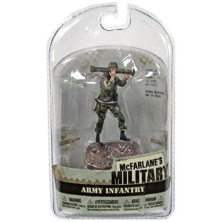 McFarlane Military 3 Inch Series 1 Army Infantry AT-4 Mini Figure [Random Ethnicity] ()