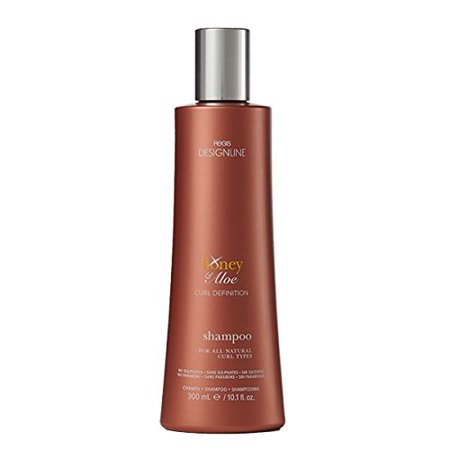 Honey & Aloe Shampoo, 10.1 oz - DESIGNLINE - Sulfate-Free Formula Gently Cleanses and Helps Create Frizz-Free Better Defined (Aloe Vera 80 Shampoo)