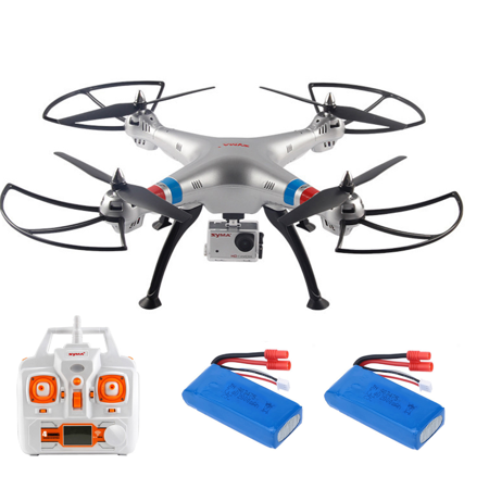 Cheerwing Syma X8g Rc Quadcopter Drone 2 4Ghz 4Ch Headless With 8Mp Hd Camera 360 Eversion