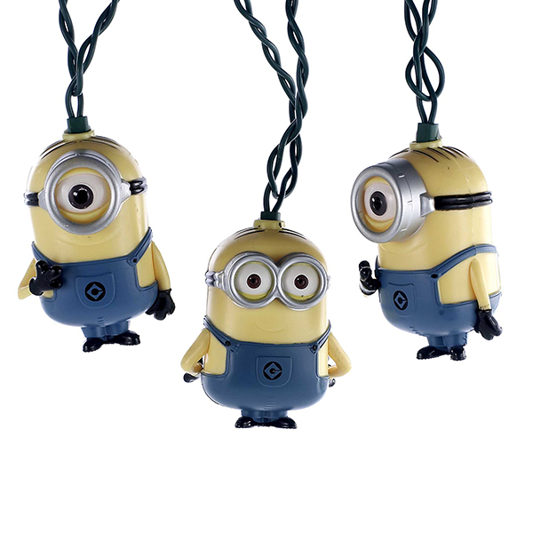 Kurt Adler UL 10-Light Despicable Me Minions Set