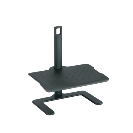 2129BL Shift Black Durable Nylon Platform 3 inches to 16 inches Height Adjustable Footrest