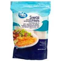 Great Value Frozen Swai Fillets, 2 lb