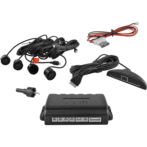 XO Vision 6-Piece Rear Reverse Parking Sensor System with LED Display
