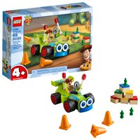 LEGO Toy Story 4 Woody & RC Building Set, Age 4+