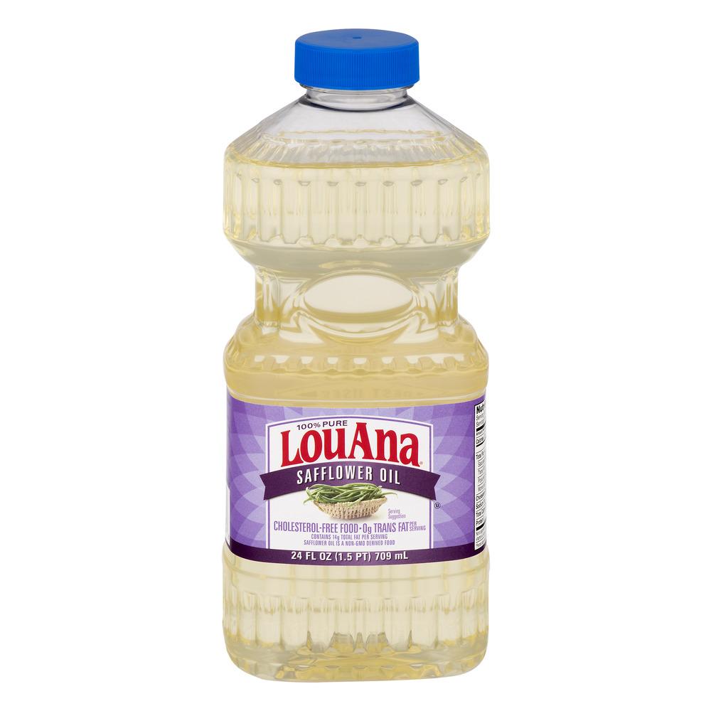 LouAna Safflower Oil, 24.0 FL OZ