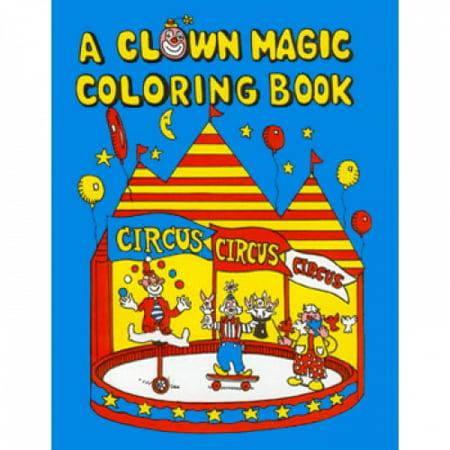 Clown Magic Coloring Book (Dummy)