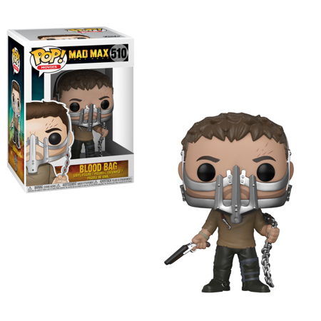 Funko POP! Movies: Mad Max: Fury Road - Max with Cage Mask Walmart Exclusive