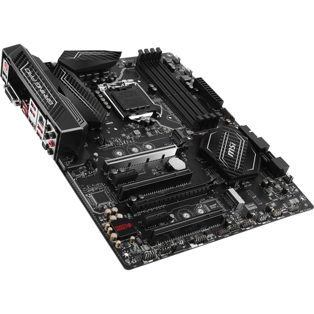 MSI H270 GAMING PRO CARBON ATX Desktop Motherboard w/ Intel H270 Chipset