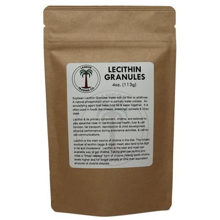 Lecithin Granules 4 Ounces (113 Grams) (Lecithin Granules Organic)
