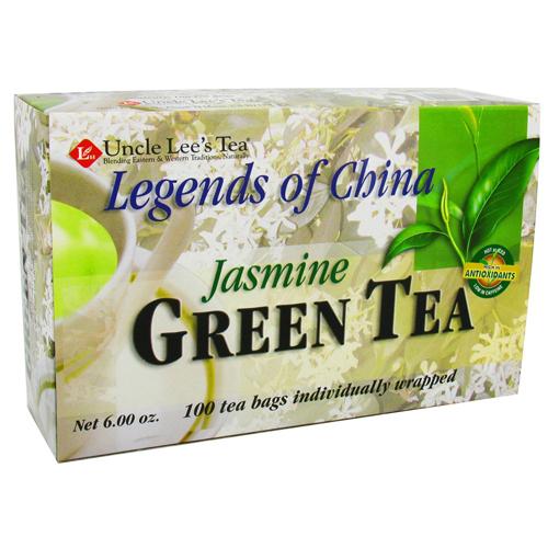 Uncle Lees Tea Legends Of China, Jasmine Green Tea - 100 Tea Bags