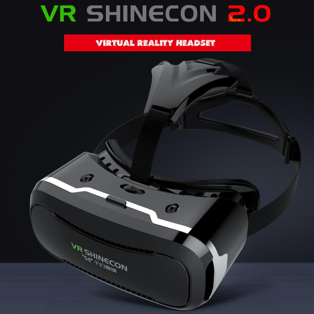 Shinecon VR 2.0 Virtual Reality Headset 3D Movies Games Video Glasses For Smartphone