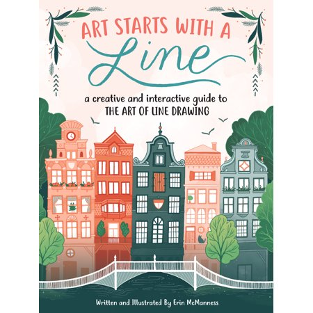 - Art Starts with a Line : A creative and interactive guide to the art of line drawing